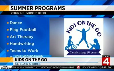 Kids On The Go on WDIV!